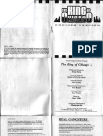 The King of Chicago - Manual - PC