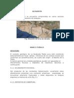Informe Cañon del Colca- Arequipa