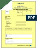 Formulir Pendaftaran Guru Bimble Bandung