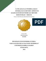 RPP Hukum Newton I II
