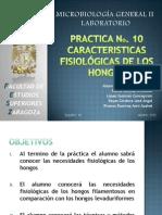 Caracteristicas Fisiologicas de Los Hongos