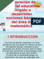 Elaboración de material educativo dirigido a desarrollar nociones.pptx