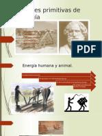 Fuentes Primitivas de Energía