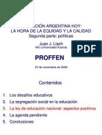 Llach_2009_Educacion_Politicas