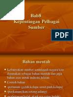 88967096 BAB 8Kepentingan Sumber