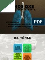 medios diagnósticos respiratorios