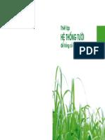 thiết lập hệ thống tưới để trồng cỏ chất lượng cao - Chương 1