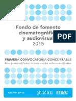 Bases Concursables 20151