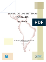 Perfil Ecuador ML4printer