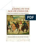(Medieval Texts in Trabslation) Siegfried Wenzel (Trans)-Preaching in the Age of Chaucer_ Selected Sermons in Translation-The Catholic University of America Press (2008)