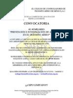 Convocatoria Seminario Mayo 2014