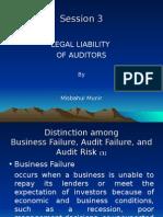 LEGAL LIABILITY OF AUDITORS