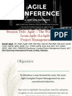 Agile the Way Forward by Suhail Iqbal