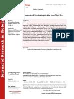 Haematological characteristics of Synodontis nigrita of the lower Niger River