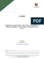 Esternalizzazioni Telecom Dossier di Lidia Undiemi