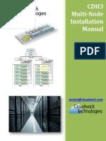 CDH3 Hadoop Cluster Installation Manual