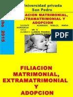 Diapositivas ... Filiacion Matrimonial, Extramatrimonial y Adopcion.
