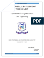 CS6311 Lab Manual(PDS-II) New One
