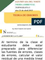 Teoria de Errores 2015 1