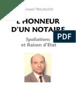 Livre l Honneur d Un Notaire Spoliations Et Raison d Etat