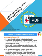 compassion fatigue among registered nurses - presentation by maralon bevans  april 2011 edit