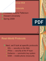 Real World Security Protocols Spring 2009