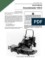 Toro Groundsmaster 455-D Riding Mower Repair Manual Download
