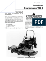 Toro Groundsmaster 455-D Riding Mower Repair Manual Download