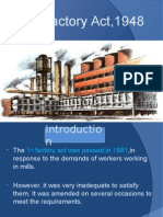 The Factory Act 1948