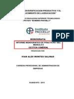 Informe de Practicas_modulo II -Montes