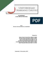 Normas InteNORMAS INTERNACIONALES DE CONTABILIDADrnacionales de Contabilidad (1)