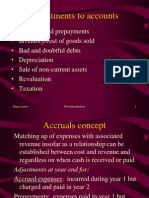 final account adjustments