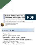 1. Pendahuluan Analisis Halal