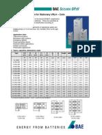 OPzV 2V Technical Specification-2011