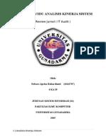 Tugas Individu - Review Jurnal ( IT Audit )