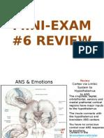 Updated Mini Exam 6 Review
