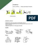 Tabla de Musculación de Iniciación