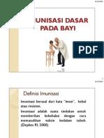 Imunisasi Dasar