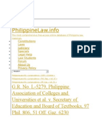 Pacu v Sec of Education