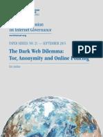 Tor Dark Net