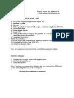 Document List of LICHFL