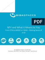 NFV and What it Means to You From ETSI to MANO to YANG – Making Sense of it All