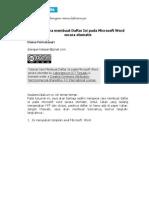 Cara membuat Daftar Isi pada Microsoft Word secara otomatis1.pdf