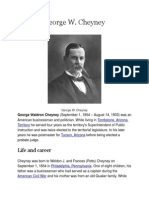 George W. Cheyney's Biography