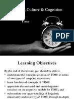 Time conception and cognitive linguistics
