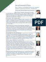 Prominent IITians