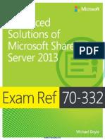 Exam Ref 70-332 Advanced Solutions of Microsoft SharePoint Server 2013