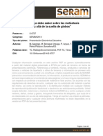 SERAM2014_Mtt Pulmonares Atípicas