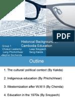 Cambodian Educational History
