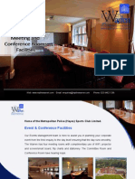 Conference Venues and Meeting Rooms Facilities in Bromley, Croydon - MPThe Warren